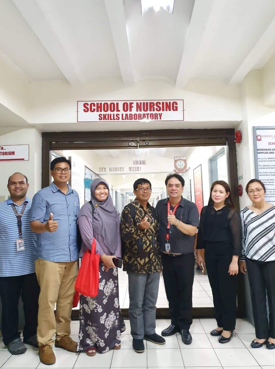 Peningkatan Kerjasama Jurusan Keperawatan dan Emilio Aguinaldo College