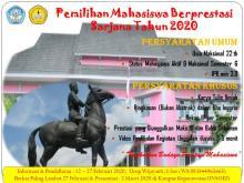 Pemilihan Mahasiswa Berprestasi (Pilmapres) Program Sarjana Tahun 2020