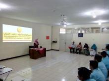 Ucap Janji Kepaniteraan Mahasiswa Ners Angkatan XIX FIKES